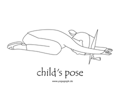 Yoga for Kids Flashcards Child