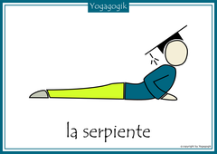 Kinderyoga Flashcards Serpiente