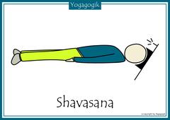 Kinderyoga Flashcards Shavasana