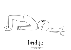 Yoga for Kids Flashcards Bridge