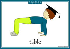 Yoga for Kids Flashcards Tisch