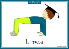 Kinderyoga Flashcards Mesa