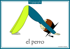 Kinderyoga Flashcards Perro