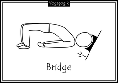 Kinderyoga Ausmalbilder Bridge
