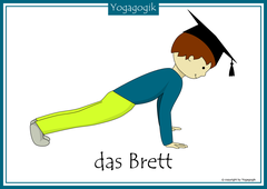 Kinderyoga Flashcards Brett