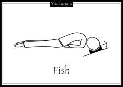 Kinderyoga Ausmalbilder Fish