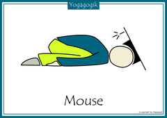 Kinderyoga Flashcards Mouse