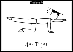 Kinderyoga Ausmalbilder Tiger