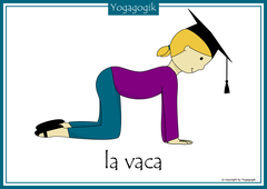 Kinderyoga Flashcards Vaca