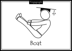 Kinderyoga Ausmalbilder Boat