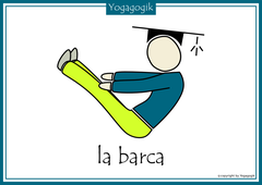 Kinderyoga Flashcards Barca