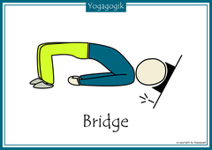 Kinderyoga Flashcards Bridge