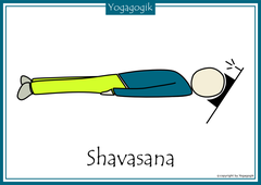 Kinderyoga Flashcards Shavasana