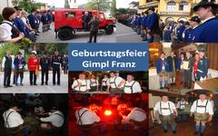 Geburtstag Gimpl Franz