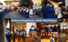 Geburtstag Seidl Matthäus