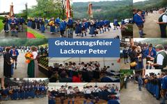 Geburtstag Peter Lackner