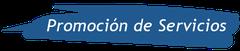 promoción de servicios gráfica