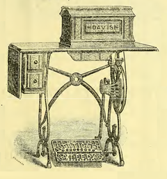 July 1887 Treadle  for The New Improved High Arm