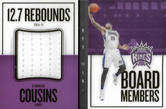 DeMARCUS COUSINS / Board Members - No. 3  (#d 143/149)