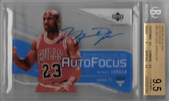 MICHAEL JORDAN / Auto Focus - No. MJ  (BGS 9.5/10)
