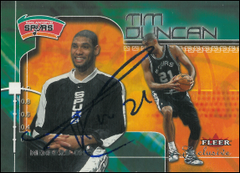 TIM DUNCAN / Autograph (Game in France)