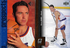 "SREVE NASH / Rookie cards (Upper Deck ""SP"" / Upper Deck)"