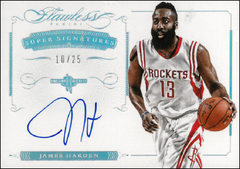 JAMES HARDEN / Super Signatures - No. JH-SS  (#d 10/25)