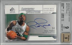 PAUL PIERCE / Authentic Signatures - No. PP