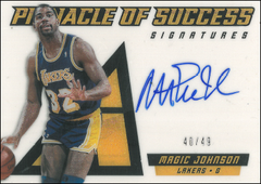 MAGIC JOHNSON / Pinnacle of Success - No. 34  (#d 40/49)