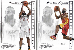 JAMES HARDEN / Red & Blue Version - No. 133 + 140  (#d 7/10 + 3/15)