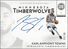 KARL-ATHONY TOWNS / Scripted Signatures - No. SS-KAT  (#d 40/49)