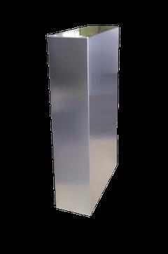 Pata de diseño en acero inoxidable