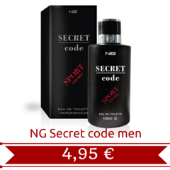 NG Secret Code sport men