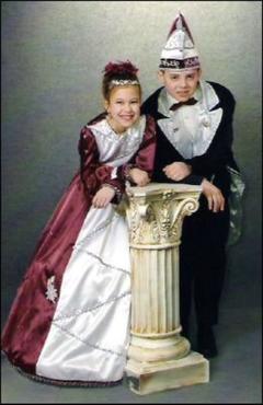 Kinderprinzenpaar 2005 Angelina I. & Tobias I.