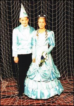 Kinderprinzenpaar 2004 Marika I. & Michael II.
