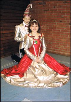Kinderprinzenpaar 2007 Laura I. & Philipp I.
