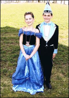 Kinderprinzenpaar 2008 Stephanie III. & Fabian I.