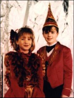 Kinderprinzenpaar 1999 Anja I. & Marco II.