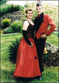 Prinzenpaar 2003 Carmen I. & Jochen II.