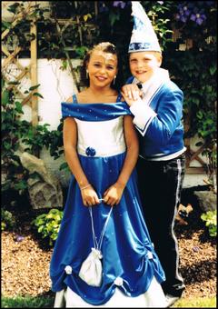 Kinderprinzenpaar 2003 Jessica I. & Joachim I.