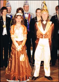 Kinderprinzenpaar 2009 Isabell I. & Philipp II.