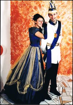Prinzenpaar 2001 Malaika I. & Marco I.
