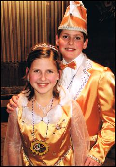 Kinderprinzenpaar 2006 Stephanie II. & Lucas I.
