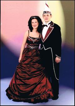Prinzenpaar 2005 Kerstin I. & Thomas I.
