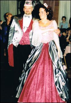 Prinzenpaar 2002 Sabine I. & Michael I.