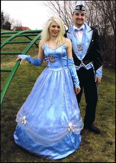 Prinzenpaar 2008 Simone I. & Michael III.