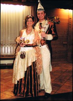 Prinzenpaar 2006 Daniela II. & Andreas II.