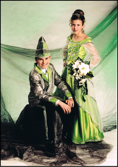 Kinderprinzenpaar 2002 Elena I. & Stefan II.