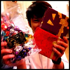 感謝!チョコいっぱい!