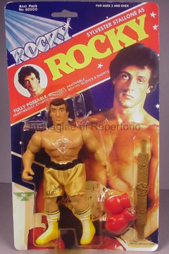 Sylvester Stallone => Rocky